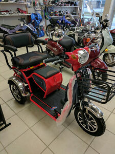 Scooters In Stock, Two & Three Wheel, All Small engine Repair