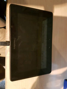 Blackberry playbook with charger