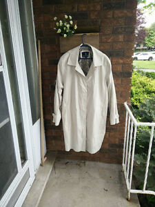 London Fog Trench Coat with Hood