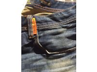 Jeans Superdry Officer Copper Black Denim