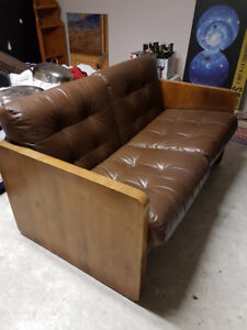 Sofa en cuir / Leather Sofa (Love Seat)