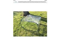 Large collapsable cold frame x2 brand new