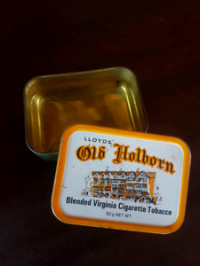Old vintage tobacco tin