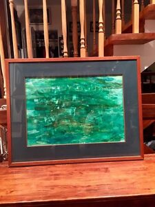 Large Framed Original Oil Painting on canvas