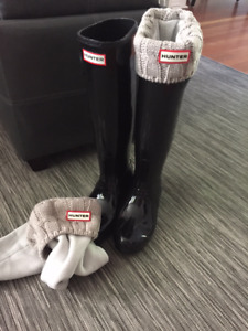 Never worn - Hunter Boots with Nordstrom receipt