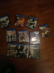 Ps4 games for sale. Prices in discription.