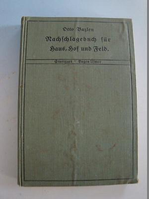RS0617-244: Nachschlagbuch für Haus Hof und Feld Landwirtschaft
