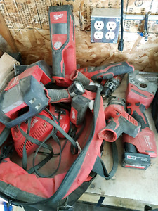 Milwaukee m 12 tool lot