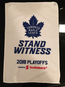 Toronto Maple Leafs 2018 Playoff rally towel - Brand New - $10