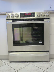 LG Stainless Steel Electric Glass Cook-top / Oven LSE3092ST