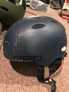 RED Snowboard / Ski helmet size adult M
