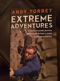 Non fiction extreme adventures outdoor Andy Torbet army