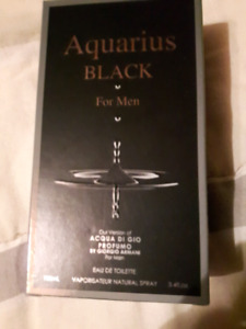 Armani cologne brand new Aquarius black