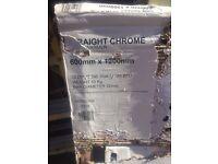 Crome towel rail radiator