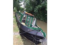 Canal barge 55ft