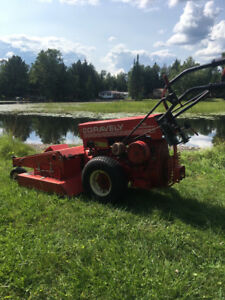 Gravely pro 12/plus cart