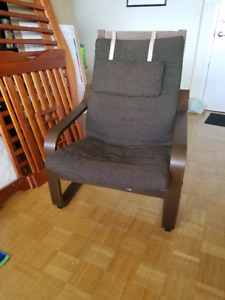 ikea brown poang chair $30
