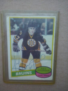 Ray Bourque Signed 1980/81 O-Pee-Chee Rookie Card #141
