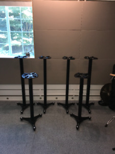 Ultimate Support MS-90/45 & MS-90/36 Monitor Stands - $600