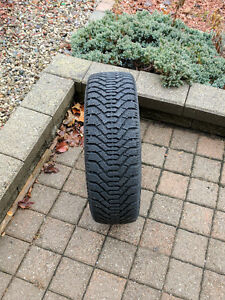 Snow tires used for one season
