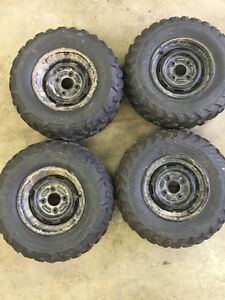 Rhino rims and tires