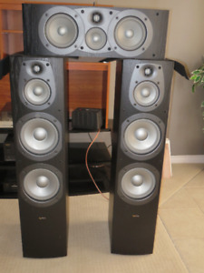 Infinity Speakers for stereo and home theater