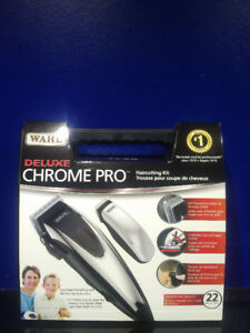 NEW Wahl Deluxe Chrome Pro Electric Shaver