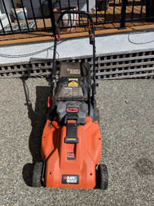 self powered battery powered lawn mower