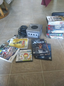 Ps3, GameCube and Wii games. And an actual GameCube