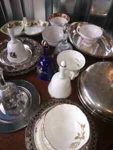 Antique China And Silver Plated Trays Kitchener / Waterloo Kitchener Area image 3