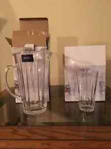 Mikasa pitcher and glasses Windsor Region Ontario image 2