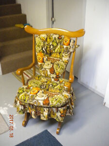 Maple rocking chair for sale
