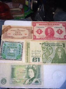 Foreign bills / collectable