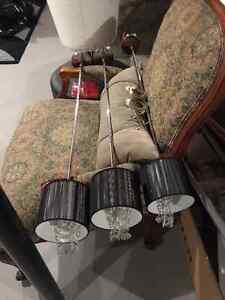 Set of 3 Kitchen Pendant lights