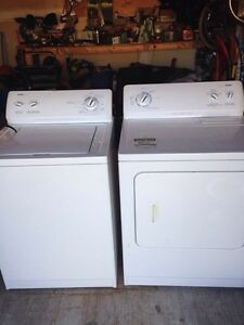 Kenmore 600 Series washer and dryer set