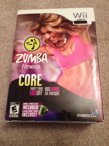 Zumba Fitness Core for Wii (Brand New, Never Opened!!!)