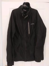 Men's Craghoppers black waterproof jacket.