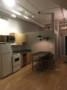 Downtown loft condo for rent