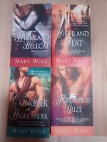 Selling 4 Mary Wine Novels for $1 Each!