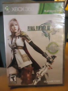 FINAL FANTASY XIII  XBOX 360 GAME BRAND NEW SEALED