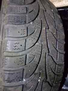 EIGHT TIRES,  FOUR RIMS, FOUR TPMS. ALL SEASON AND WINTER Kitchener / Waterloo Kitchener Area image 1