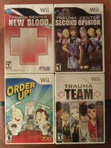 Lot de jeux de Wii.