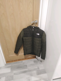 Teenagers North face reversible jacket