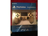 PS4 Controller Gold Edition BRAND NEW UNOPENED