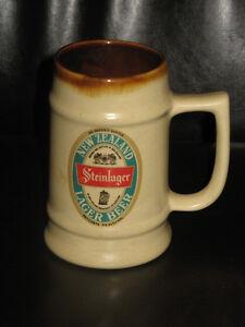 Rare Steinlager Lager Beer Ceramic Mug Auckland New Zealand