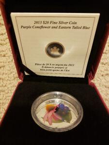 $20 Venetian Butterfly coin Royal Canadian Mint