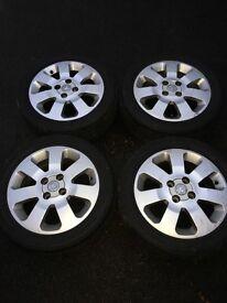 "Vauxhall Corsa 15"" SXI alloys"