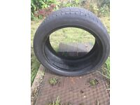 Continental tyre 245/40/18