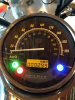 White 2009 Honda 750 shadow\spirit ALMOST NEW!! Offers welcome