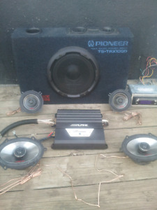Car/truck stereo system